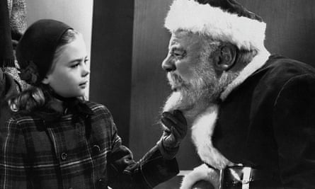 Children are surprisingly skeptical about imaginary characters yet belief in Santa persists. Photograph: Allstar/Cinetext/20 CENTURY FOX