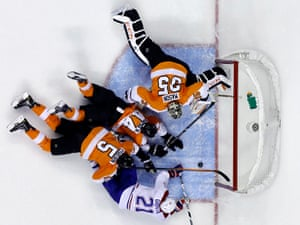 spod scraping the ice