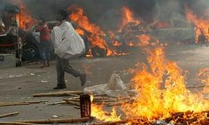 Jamaat-e-Islami protests