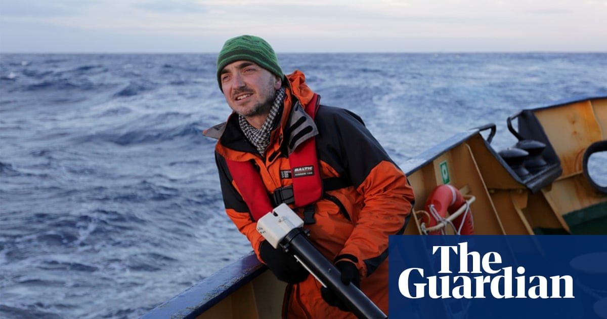 Antarctic voyage: here may be monsters