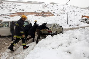 MIddle East snow: MIddle Eastern snow in pictures
