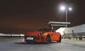 On the road: Jaguar F-type V65