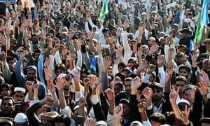 Bangladesh JI supporters