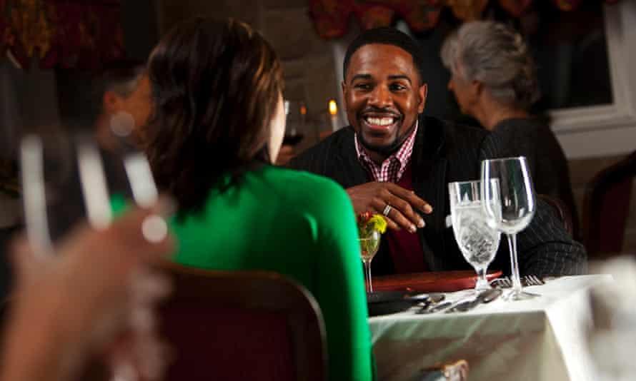 dinner man woman business date