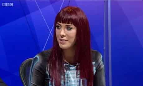 Paris Lees on BBC's Question Time