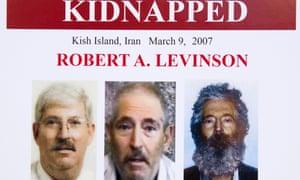 Robert Levinson FBI poster