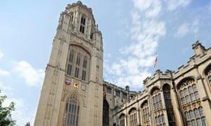 University of Bristol's Wills Memorial building