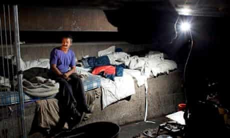 Homeless rough sleepers