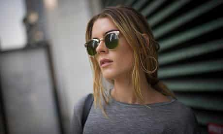 A woman in New York wearing Zara