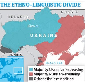 Ukraine Tale Of Two Nations For Country Locked In Struggle Over - Map ukraine over us