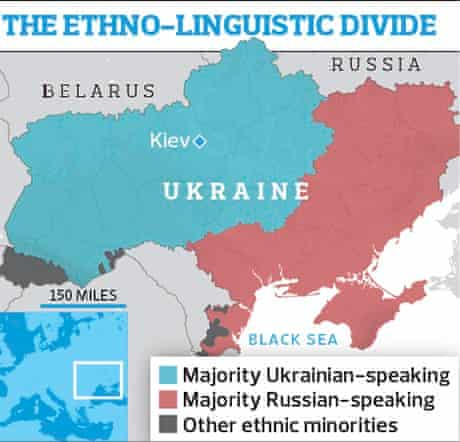 The ethno-linguistic divide