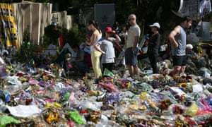 Mourners gather outside Nelson Mandela's home this morning