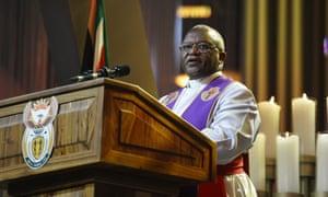 Bishop Z Siwa, presiding bishop of the SA Methodist Church