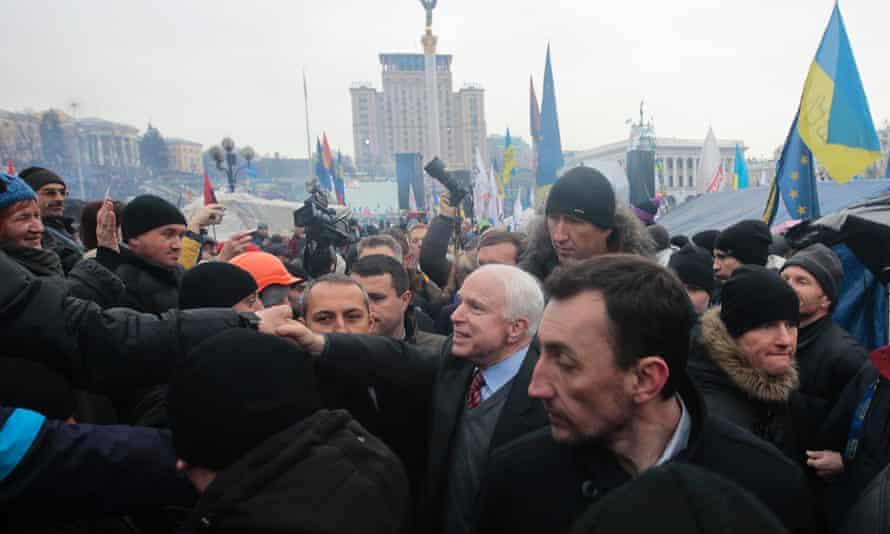John McCain in Kiev