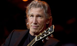 Roger Waters performs on stage