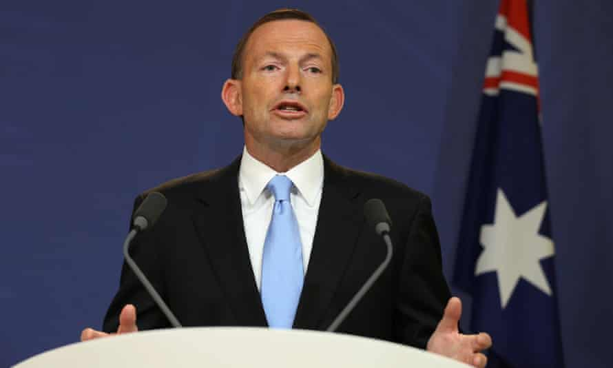 Tony Abbott press conference