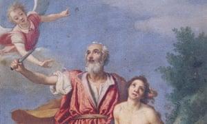 The Sacrifice of Isaac by Jacopo da Empoli