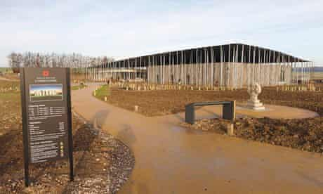 New Stonehenge visitor centre at world heritage site near Salisbury