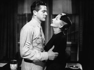 Joan Fontaine in pictures: Dana Andrews and Joan Fontaine in Beyond a Reasonable Doubt
