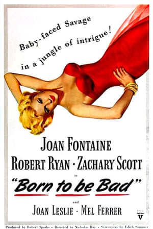 Joan Fontaine in pictures: BORN TO BE BAD, Joan Fontaine, 1950