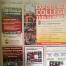 College summer programs ad