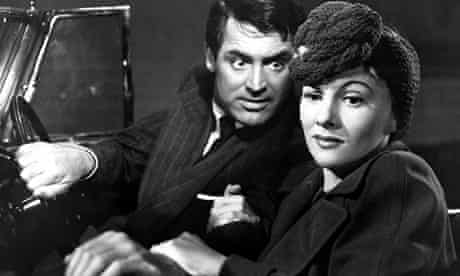 Joan Fontaine with Cary Grant in Suspicion