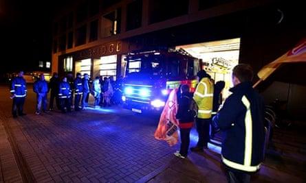 Firefighters strike