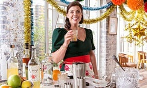 Kirstie Allsopp in a publicity still for Kirstie's Crafty Christmas on Channel 4