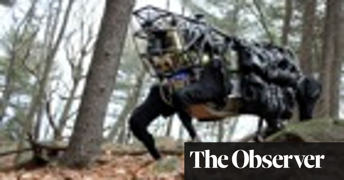 Google's robot army in action | Technology | The Guardian