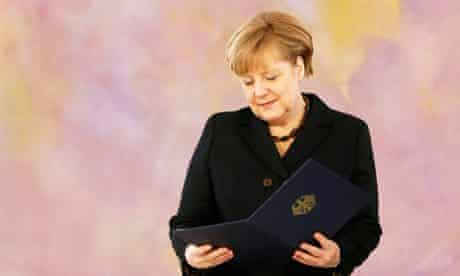 Angela Merkel Sworn In For Third Term As German Chancellor Angela Merkel The Guardian