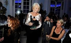 Helen Mirren at the Evening Standard theatre awards 2013
