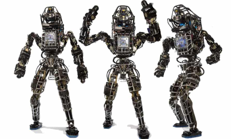 Boston Dynamics Atlas robot