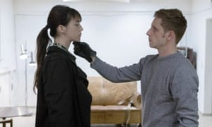 Charlotte Gainsbourg and Jamie Bell in Nymphomaniac