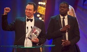 Paul Whitehouse Daniel Kaluuya British Comedy Awards