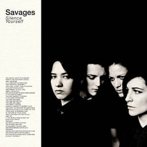 2013albumcovers: Savages Silence Yourself