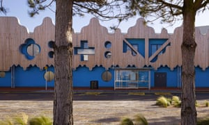 BBC Roath Basin Studios, Cardiff … A 260m-long facade of gothic, baroque and sci-fi mouldings.