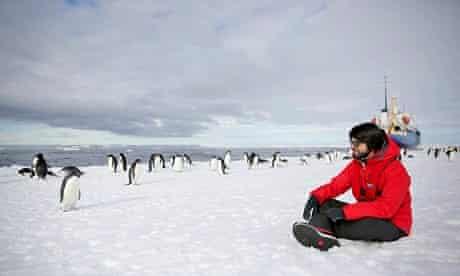 Antarctica Live: Alok Jha and penguins