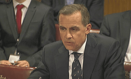 Mark Carney at Lords economics committee