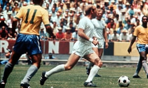 England's Bobby Charlton vs Brazil in the 1970 World Cup's Group of Death