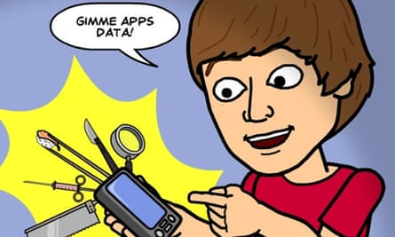 The rise of Bitstrips is one of the app trends spotlighted by new research.