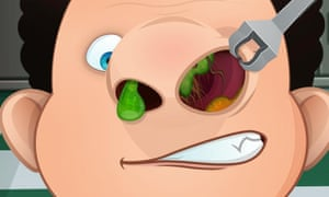 Nose Doctor: who knew kids would be attracted by bogey-related apps?