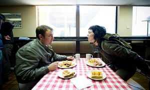Utopia: Neil Maskell and Fiona O'Shaughnessy.