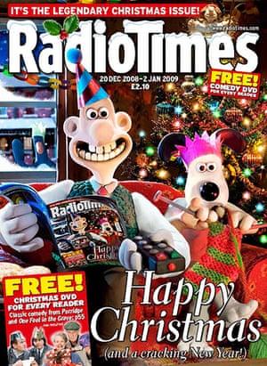 Radio Times: Radio Times - Christmas 2008