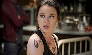 Jemima West in The Mortal Instruments