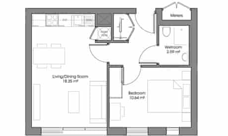 Pocket floorplan