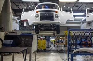 Volkswagen campers: Final ascension of the volkswagen Kombi minibus
