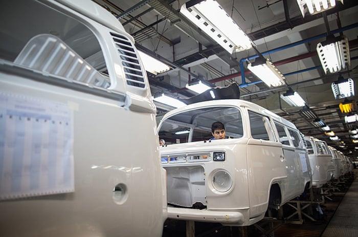 01de9f38625c91 Last Volkswagen camper vans are made in Brazil – in pictures