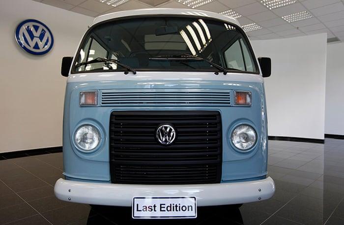 d156beb243 Last Volkswagen camper vans are made in Brazil – in pictures