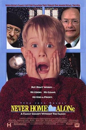 darth christmas: never home alone