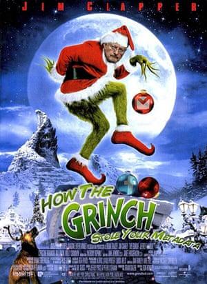 darth christmas: grinch christmas